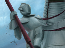 Knight Time, detail Denise M. Cassano