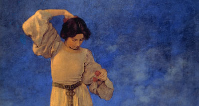 5 Maxfield Parrish Painting Techniques You Can Use!