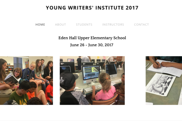 young_writers_institute