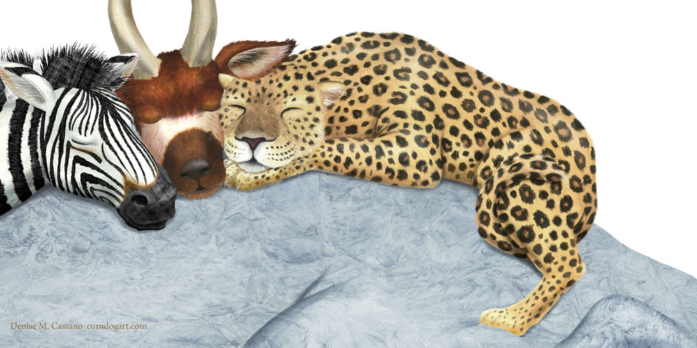 Denise_Cassano_ art_sleeping_animals