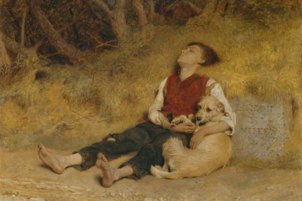 Briton-Riviere-His-Only_Friend