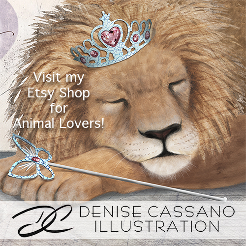 Denise Cassano Etsy Shop Seeping Lion